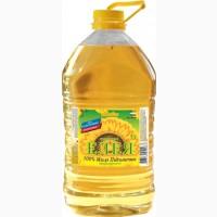 Подсолнечное нерафинированное масло Елея литров ПЭТ