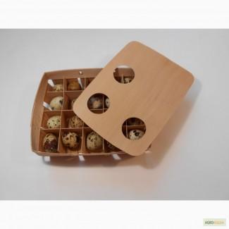 Продам экологичную упаковку из шпона для фасовки перепелиных яиц