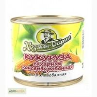 Кукуруза сладкая консервированная РБ ж/б