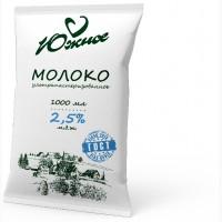 Молоко Южное, м.д.ж. 2, 5% (ТФА), 900 мл ГОСТ