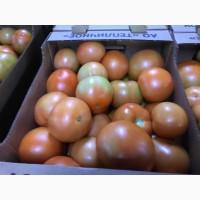 Томаты (помидоры) красные, сливка, розовые, на ветке Оптом