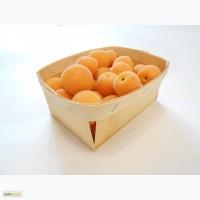 Эко контейнер из шпона для фасовки абрикосов