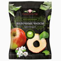 Чипсы из яблок хрустящие 100% яблоки