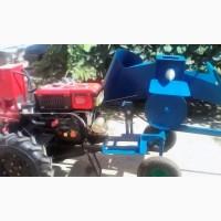 Веткоизмельчитель и дровокол с приводом от мотоблока
