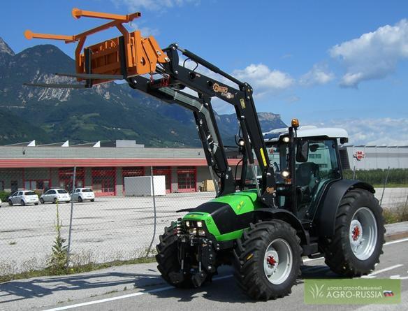 Навесной фронтальный погрузчик для тракторов