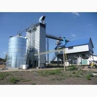 Зерносушилка поточная шахтного типа Strahl (Италия) 2500FR