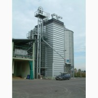 Зерносушилка поточная шахтного типа Strahl (Италия) 3000FR