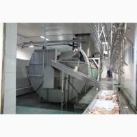 Фабрика поставляет ферму 500-2000 шт/ час охлаждения убойной машины, Китай