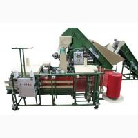 Оборудование линия для автоматической фасовки упаковки картофеля, овощей, лука, моркови