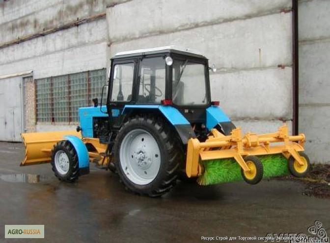 Плужно-щеточное, навесное оборудование для тракторов МТЗ.
