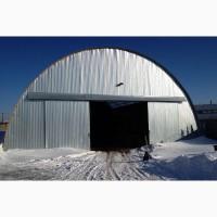 Ангар арочный 9х24х5, 0 (Холодный)