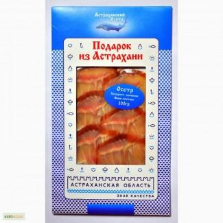 Продам Астраханский Осетр Х/К Филе-ломтики, Подарок из Астрахани