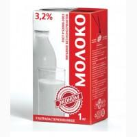 Молоко Эконом 3.2% ультра пастеризованное ТБА