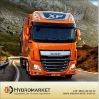 Гидравлическая система Hyva на DAF с высококачественным алюминиевым баком