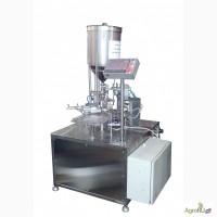 Оборудование автомат фасовки упаковки розлива в стакан АФ1500