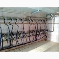 Уст-ка доения молока в молокопровод УНИМИЛК-100Н
