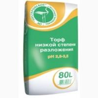 Продам Торф низкой степени разложения pH 2, 5-3, 5