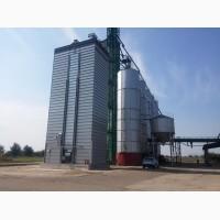 Зерносушилка поточная шахтного типа Strahl (Италия) 6000FR