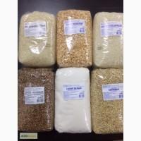 Оптом крупы и сахар в мешках и фасовка 800-900 гр