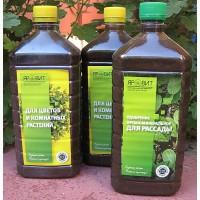 Натуральные жидкие органические удобрения из сапропеля