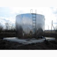 Сборный нержавеющий резервуар 50 м3 (в наличии на складе)