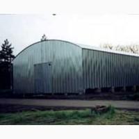 Ангар арочный с вертикальной стойкой 10х18х5