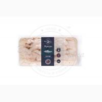 Муксун ломтик холодного копчения 100 гр в вакуумной упаковке