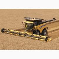 Услуги по уборке урожая зерновых, бобовых и масличных культур