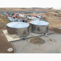 Сборные нержавеющие резервуары и емкости