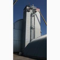Зерносушилка поточная шахтного типа Strahl (Италия) 11000FR