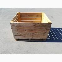 Контейнер деревянный поддонного типа для яблок