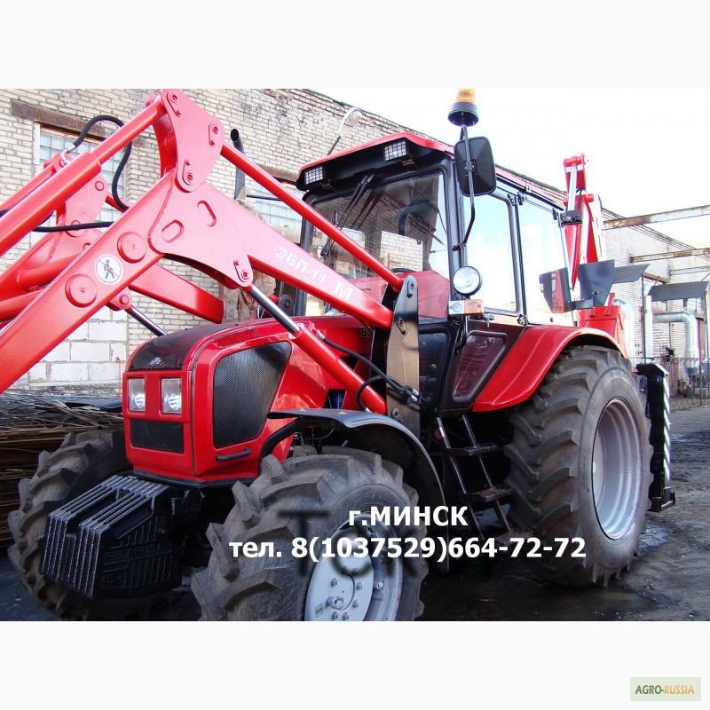 Трактор МТЗ-82.1-23/12-23/32 с усиленным балочным мостом