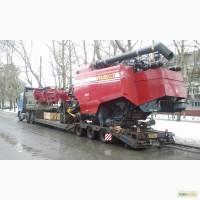 Услуги низкорамных траллов. Перевозки габаритных и негабаритных грузов