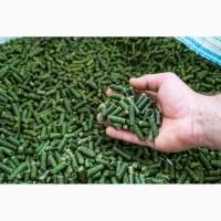 Витаминно-травяная мука из люцерны в гранулах