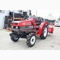 Японский мини трактор MITSUBISHI MT21D