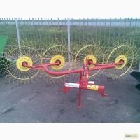 Грабли-ворошилки 4 колесные Польша (Ekiw), 2.4 метра