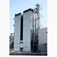 Зерносушилка поточная шахтного типа Strahl (Италия) 14000FR