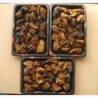 Продам березовый гриб чага в сыром и сухом виде