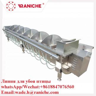 Шнековый охладитель для субпродуктов
