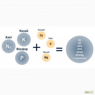 Азотно-фосфорные смеси (NPSCA) в 1 грануле