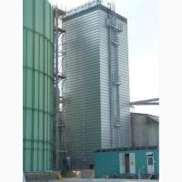 Зерносушилка поточная шахтного типа Strahl (Италия) модель 15000 FR