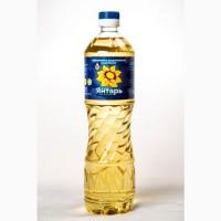 Подсолнечное масло Живой янтарь 1.0л