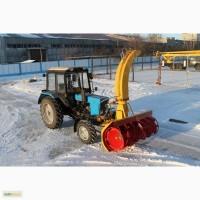 Снегоочиститель фрезерно-роторный СНР-200 для трактора МТЗ
