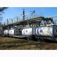 Перевозка нефтехимии и удобрений танк-контейнерами по ж/дороге