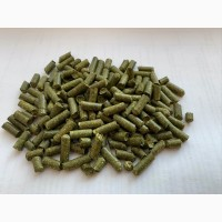 Гранулированная травяная мука