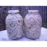 Продам соленые грибы(грузди)
