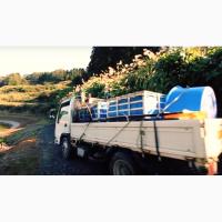 Резервуар разборный для перевозки рыбы
