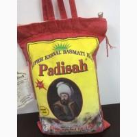 Оптом рис Басмати Падишах длинно зерновой пропаренный 1121
