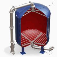 Дренажное устройство распределительное щелевого типа для фильтров ФИПа, ФОВ