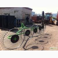 Грабли ворошилки навесные турецкие 5 колесные